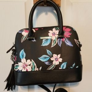 Madden Girl Dome floral crossbody